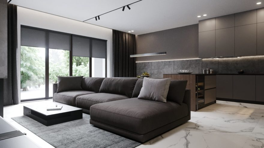 Katarina sofa in the interior фото 3