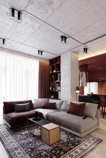 Katarina sofa in the interior фото 4-1