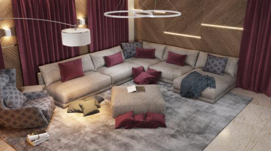 Katarina sofa in the interior фото 14-1