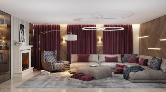 Katarina sofa in the interior фото 14-2