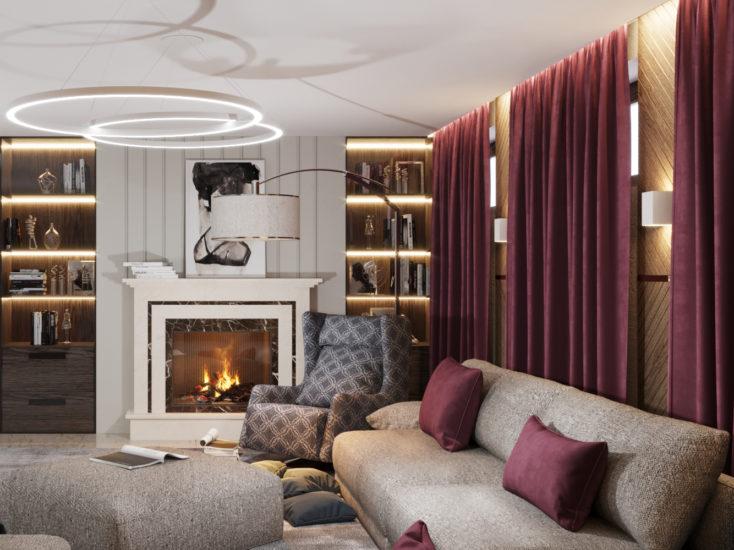 Katarina sofa in the interior фото 13