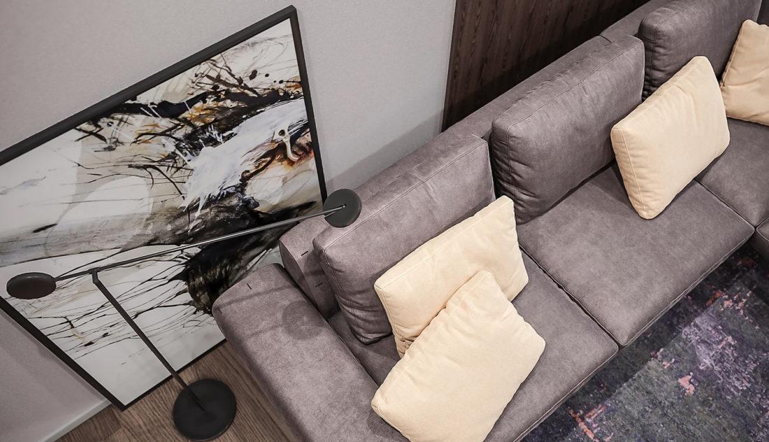 Linda sofa in the interior фото 3-1
