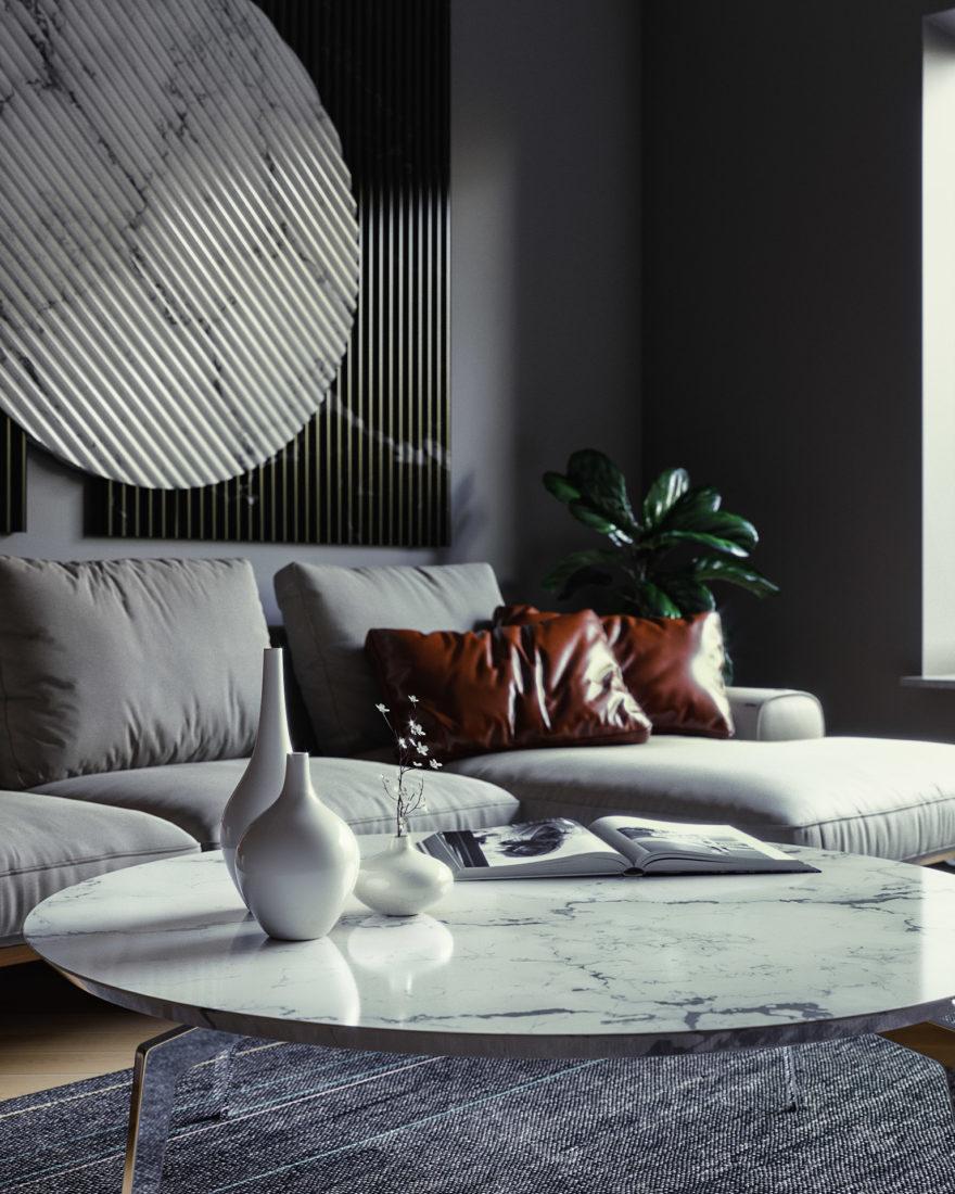Linda sofa in the interior фото 5-2