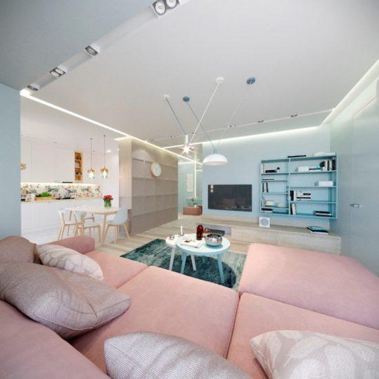 Tutto sofa in the interior фото 12-2