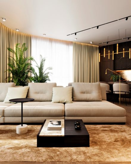 Ermes sofa in the interior фото 7