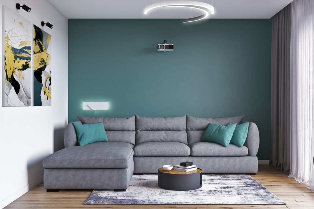 Parma sofa in the interior фото 4-1