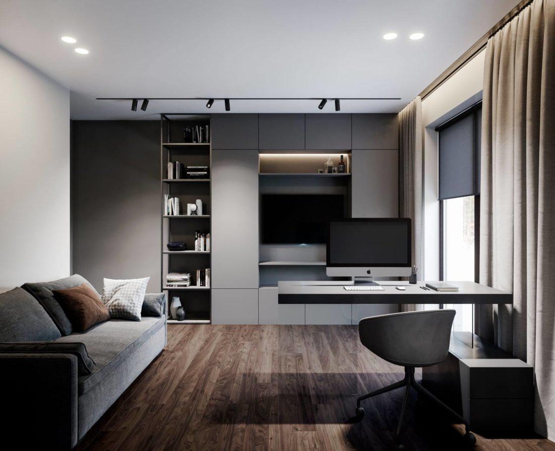 Sani sofa in the interior фото 1-2