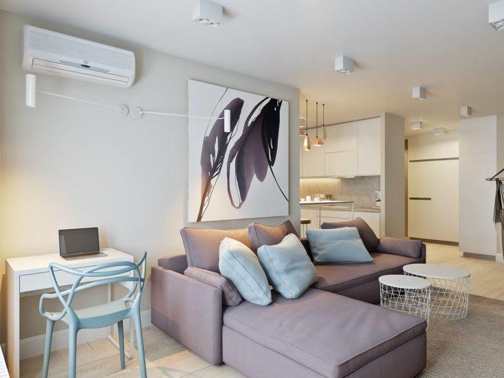 Sani sofa in the interior фото 4