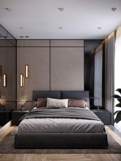 Кровать LANA в интерьере фото 5-1