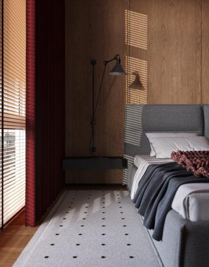 Кровать LANA в интерьере фото 2