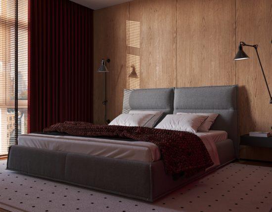 Кровать LANA в интерьере фото 3-2