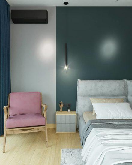 Кровать LANA в интерьере фото 11-1