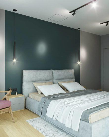 Кровать LANA в интерьере фото 11-2