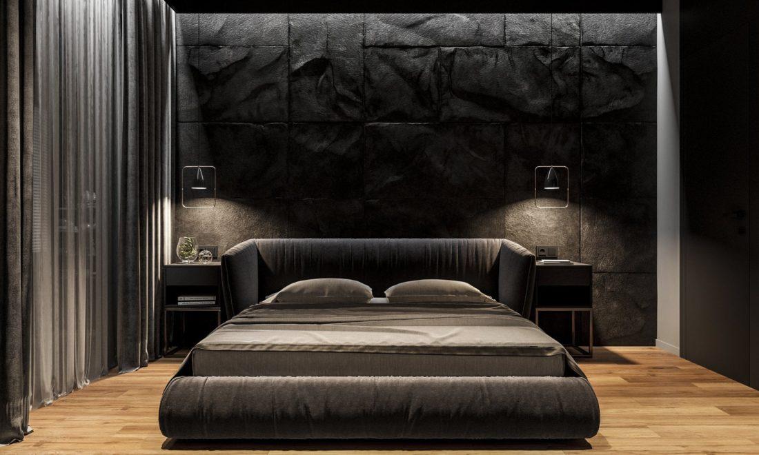 Кровать Too night в интерьере фото 2-1