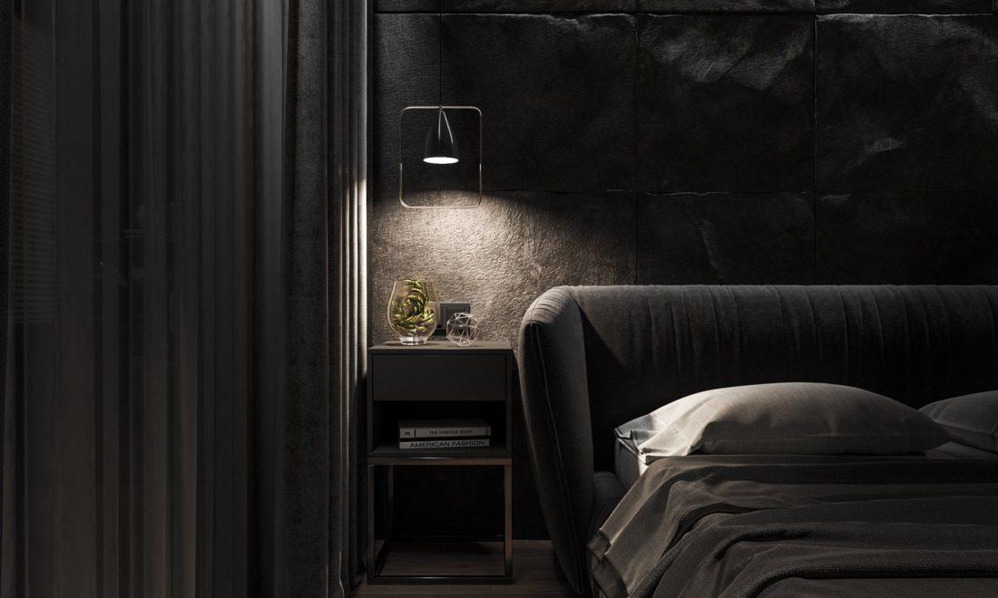 Кровать Too night в интерьере фото 2-2