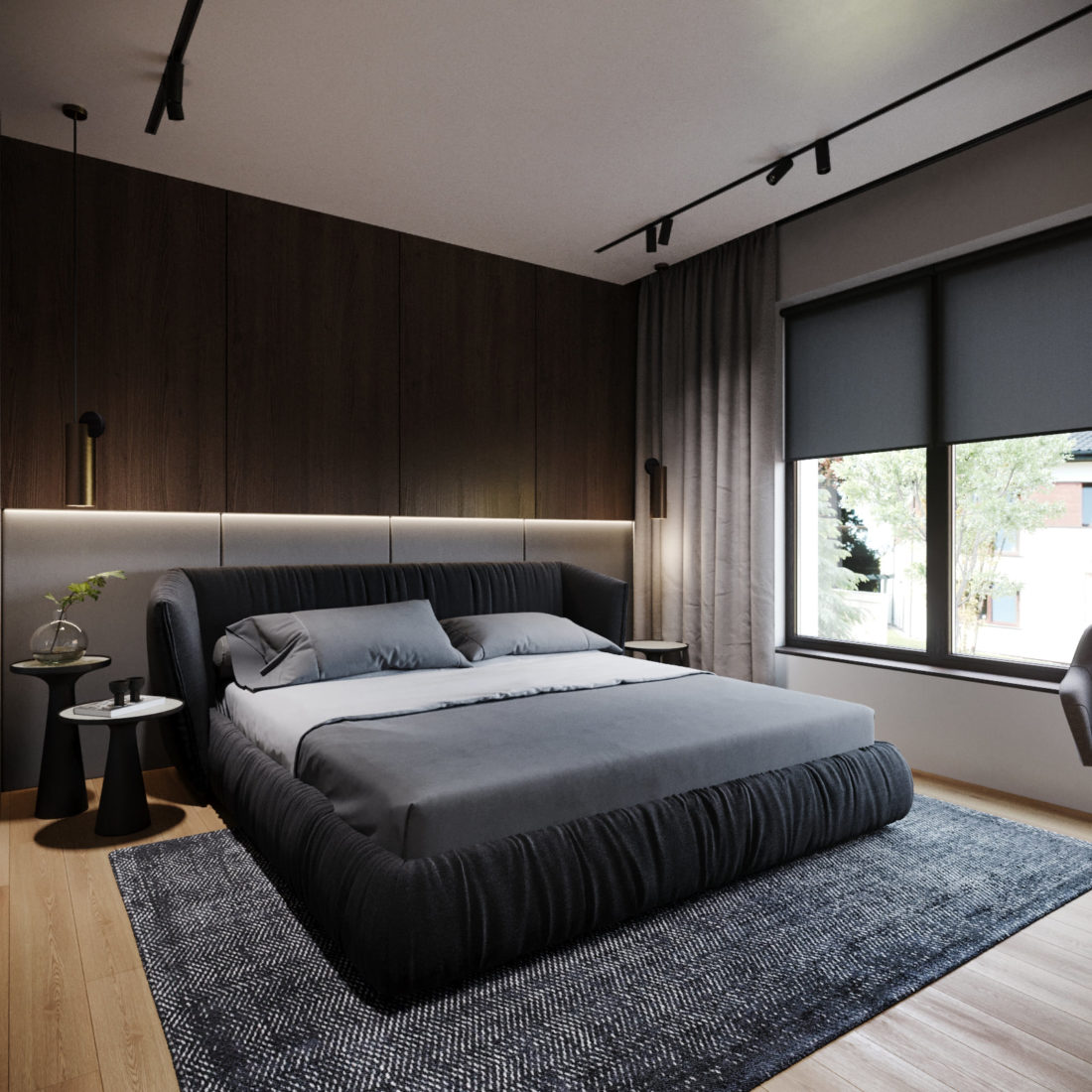 Кровать Too night в интерьере фото 4-1