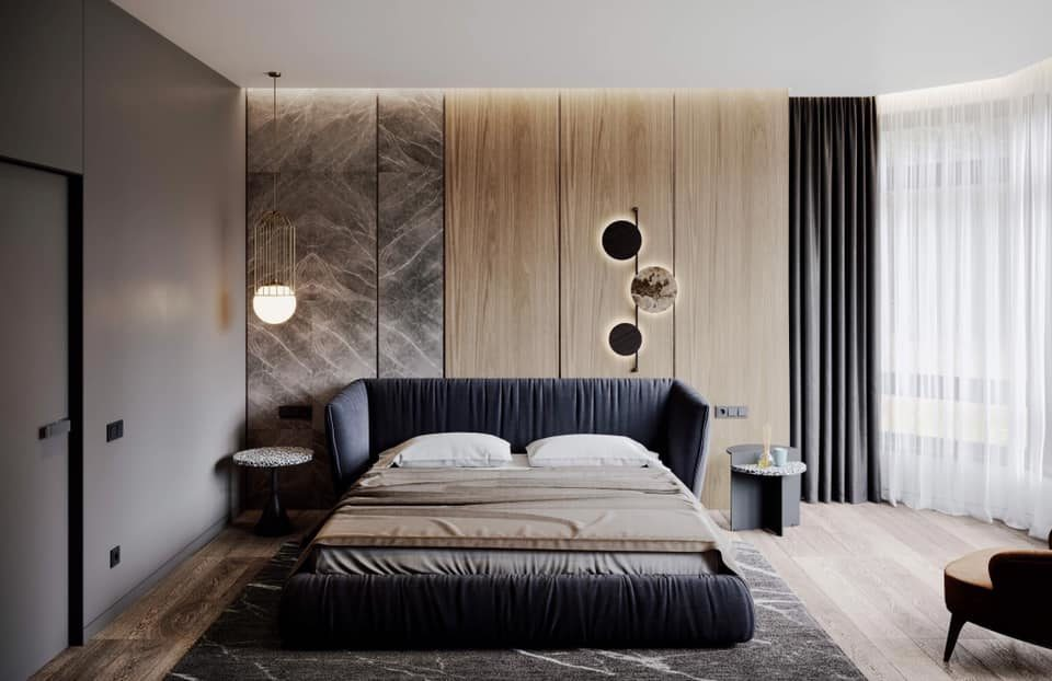 Кровать Too night в интерьере фото 6-1