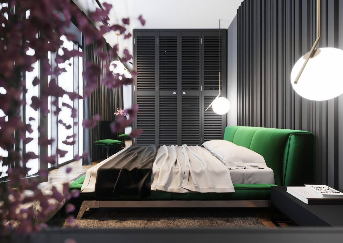 Кровать Eterna в интерьере фото 2-1