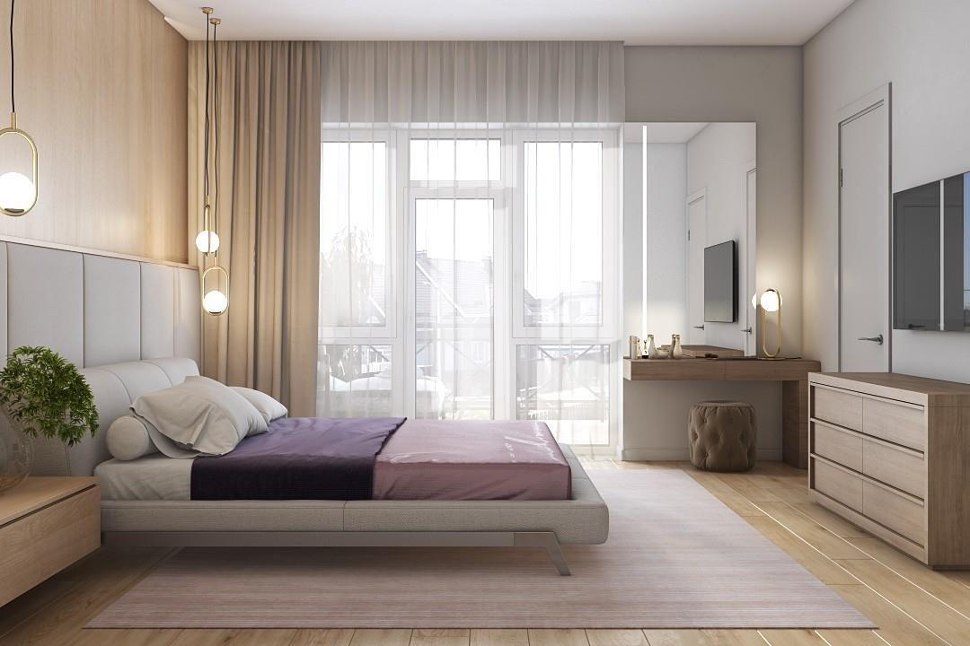 Кровать Eterna в интерьере фото 4-2