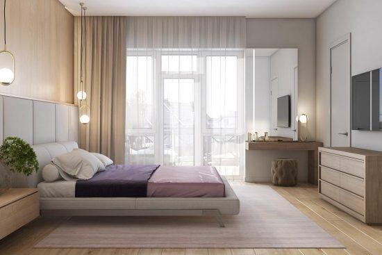 Кровать Eterna в интерьере фото 6-2