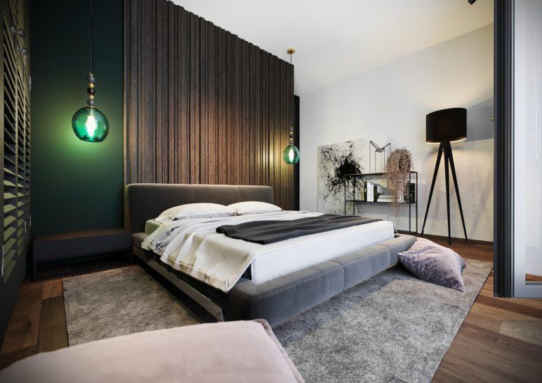 Кровать Eterna в интерьере фото 5