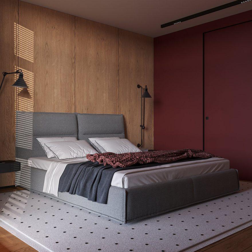 Кровать LANA фото в интерьере