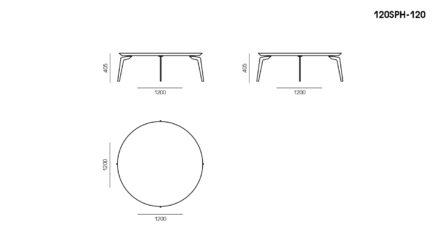 Стол Sphera размеры фото 1