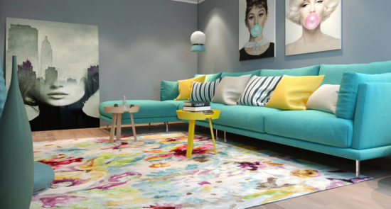 Alfinosa sofa in the interior фото 9-2
