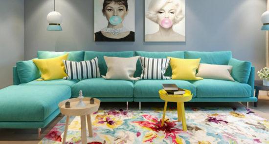 Alfinosa sofa in the interior фото 9-1