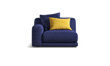 Module with armrests sofa фото