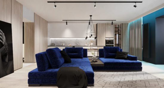 Ermes sofa in the interior фото 13-2