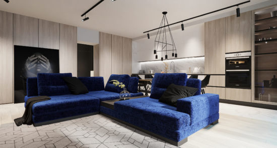 Ermes sofa in the interior фото 13-1