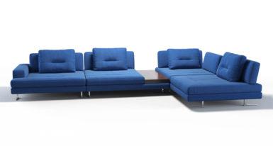 Угловой диван Ermes фото