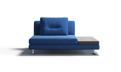 Central module with a table sofa фото