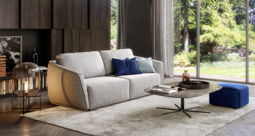 Moon sofa in the interior фото 1