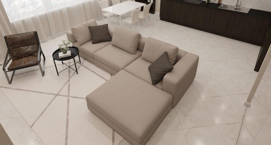 Soho sofa in the interior фото 5