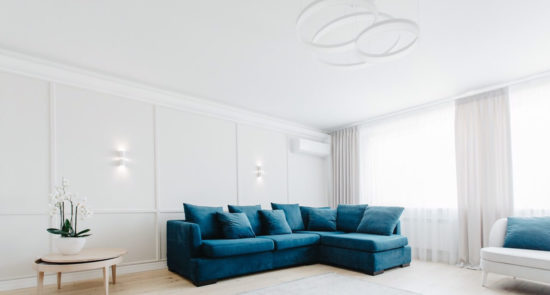 Ipsoni sofa in the interior фото 7-1