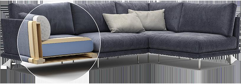 Alfinosa sofa детали