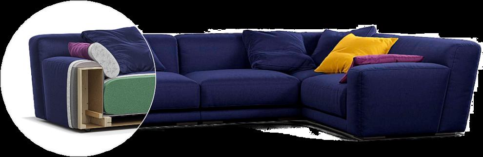 Tutto sofa детали