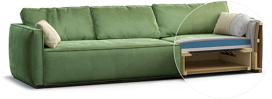 Esse sofa детали