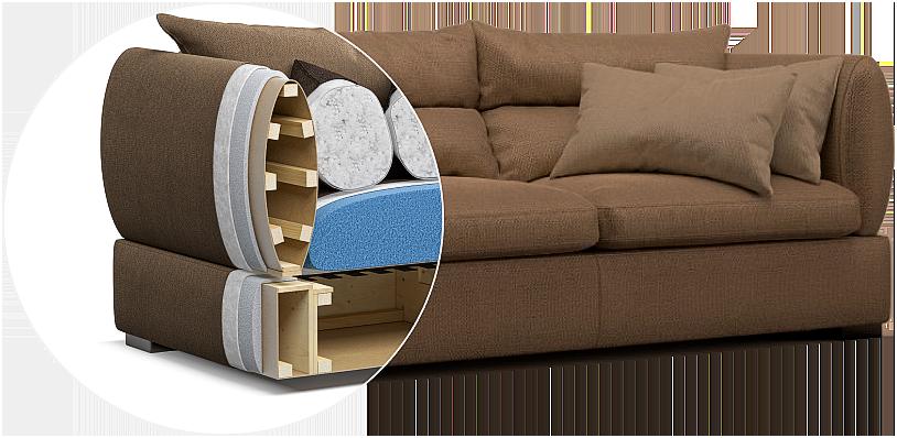 Parma sofa детали