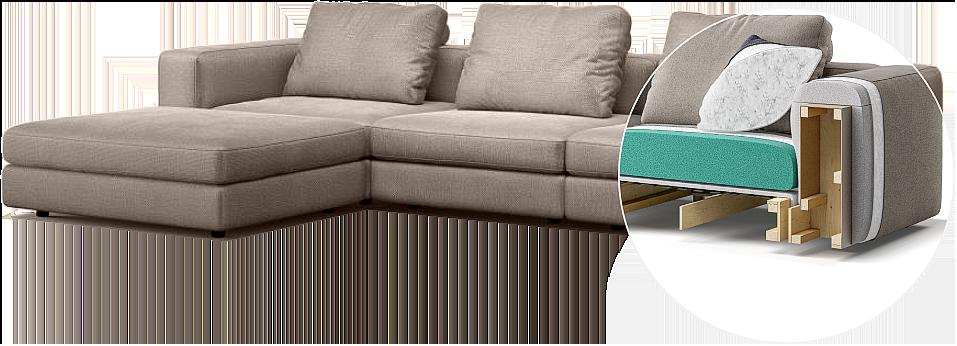 Soho sofa детали