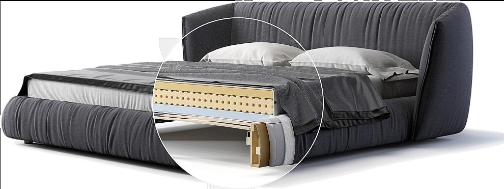 Кровать Too night детали