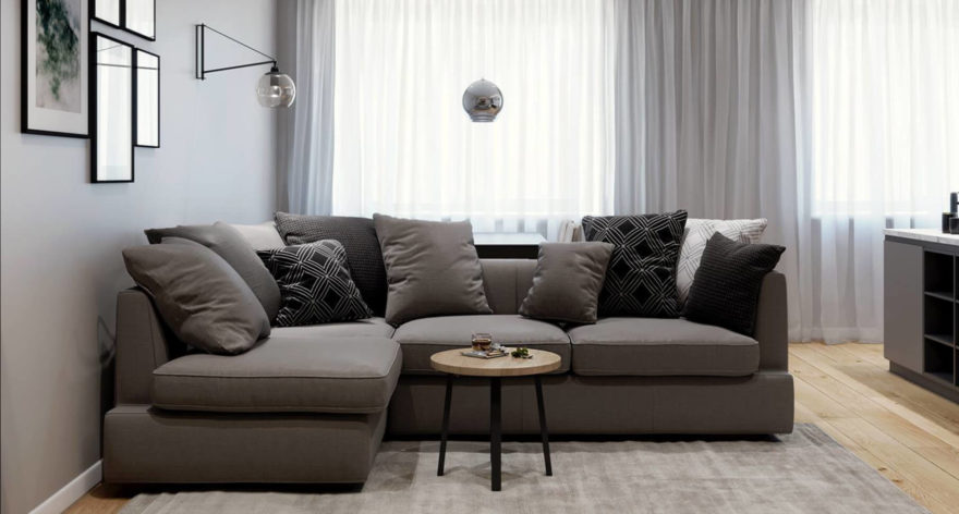 Ipsoni sofa in the interior фото 1