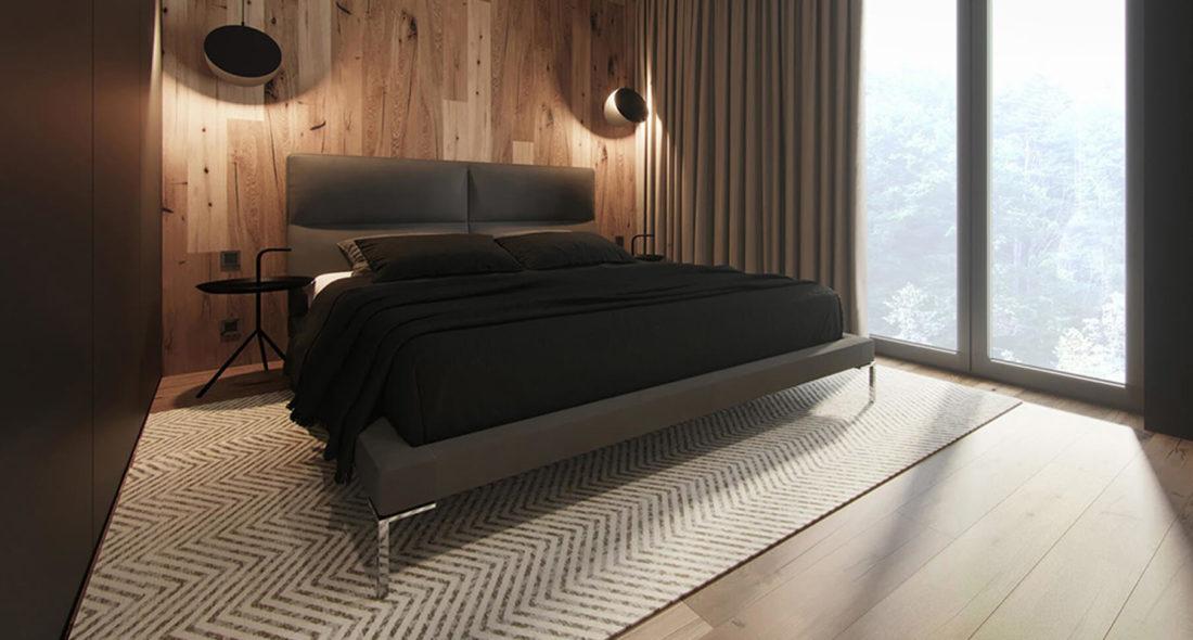 Ліжко LAVAL в інтер'єрі фото 1-2
