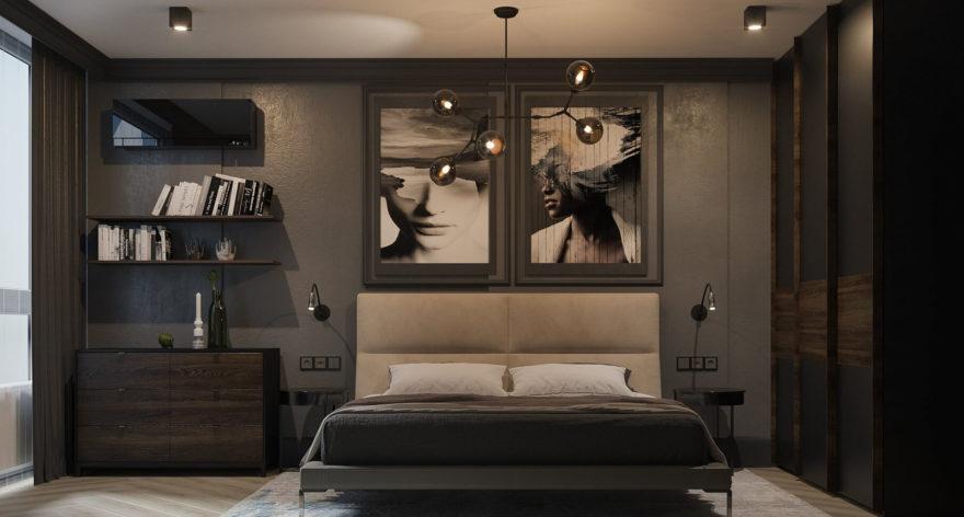 Ліжко LAVAL в інтер'єрі фото 5