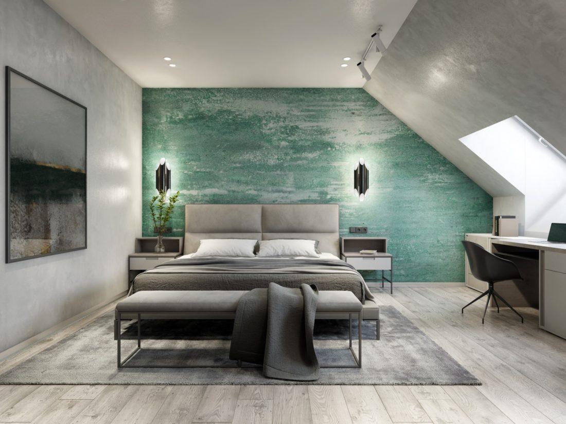 Ліжко LAVAL в інтер'єрі фото 4-1