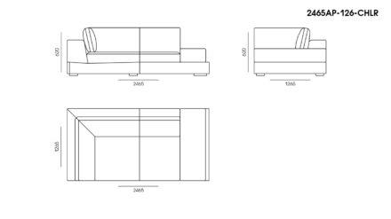 Appiani sofa размеры фото 7