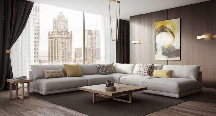 Katarina sofa in the interior фото 16