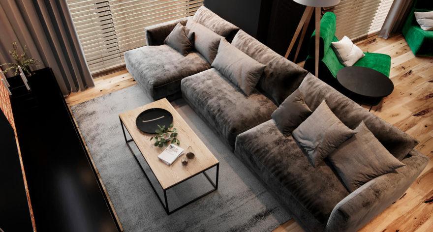 Katarina sofa in the interior фото 1